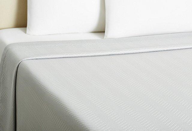 Twin Dart Blanket, Dove