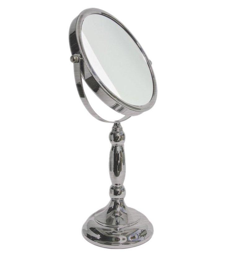Traditional Mirror, Satin Nickel