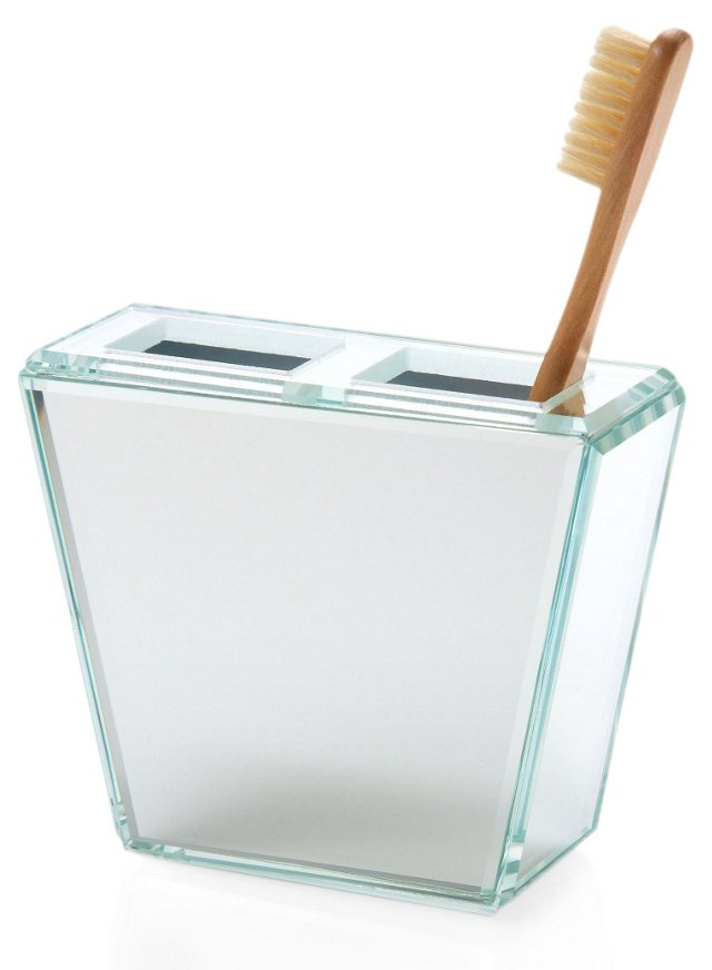Glass Toothbrush Holder