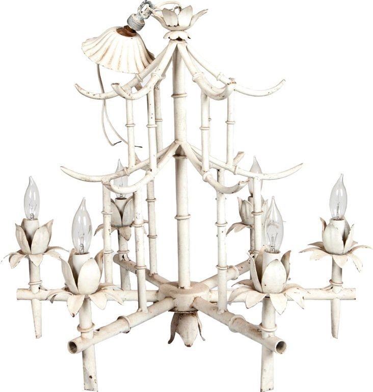 Bamboo-Style Chandelier