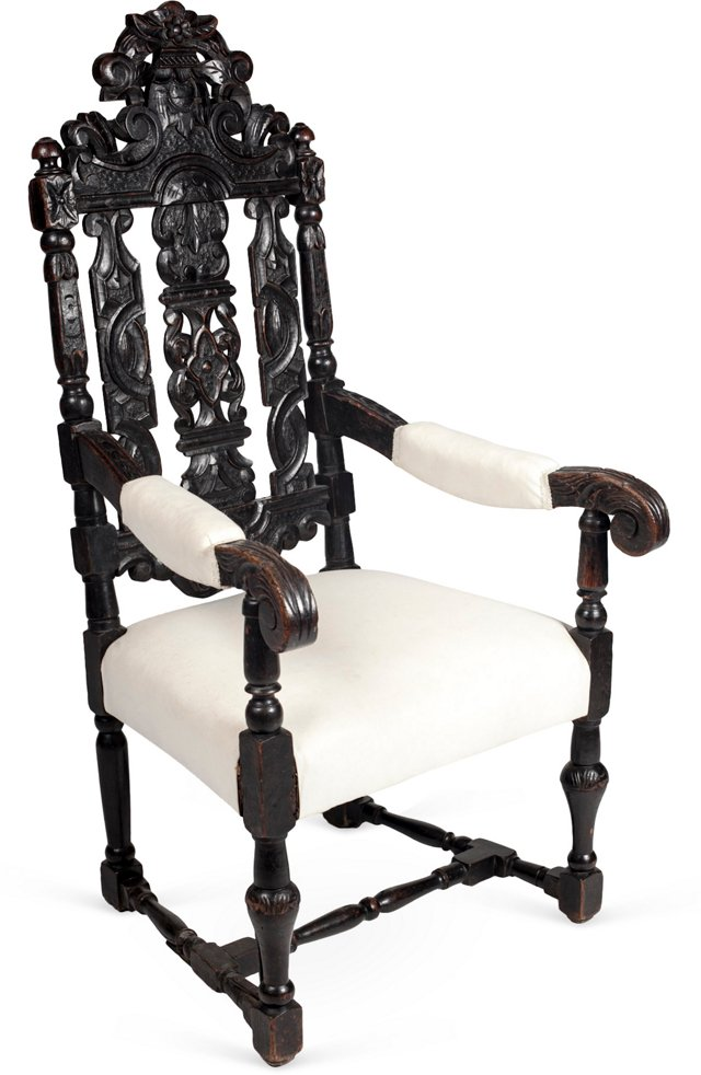 Antique Spanish Colonial Chair
