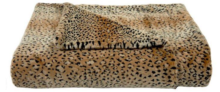Lynx Throw, Brown