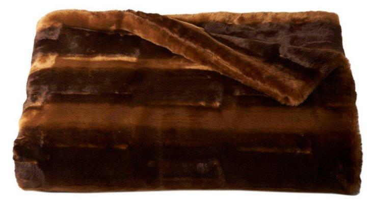 Camel Throw, Dark Brown