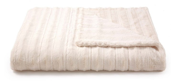 Channel Throw, Cream