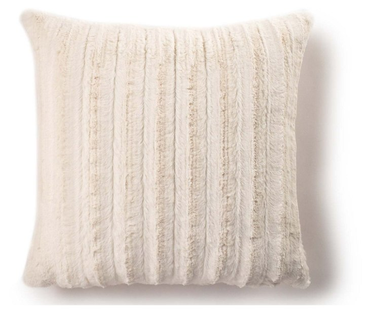 Channel 20x20 Pillow, Cream