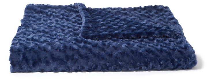 Rosebud Throw, Navy