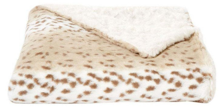 Snow Leopard Throw, Multi