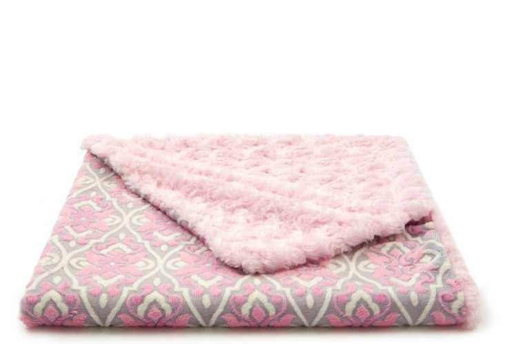 Barcelona Toddler Blanket, Pink