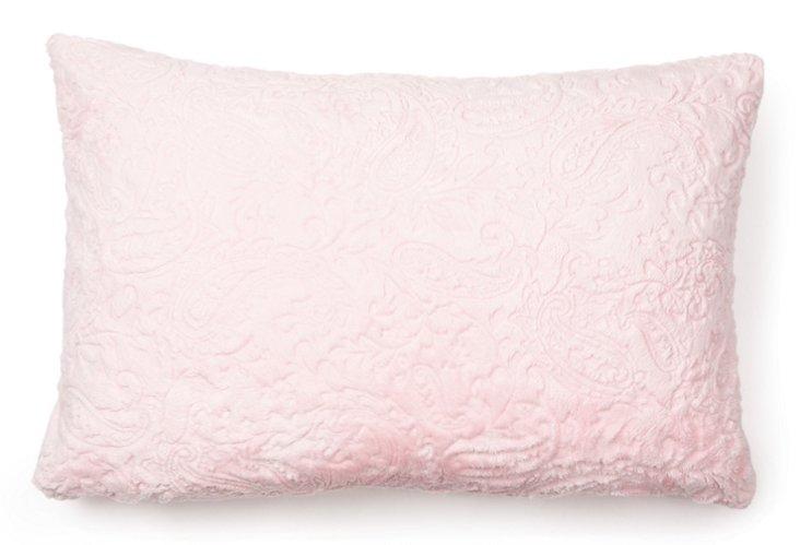 Toddler Pillow, Paisley Pink