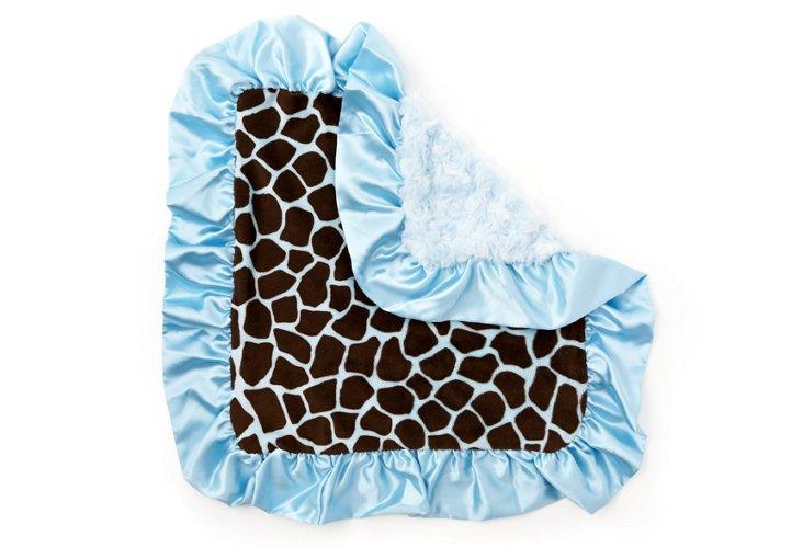 Snuggle, Giraffe Blue