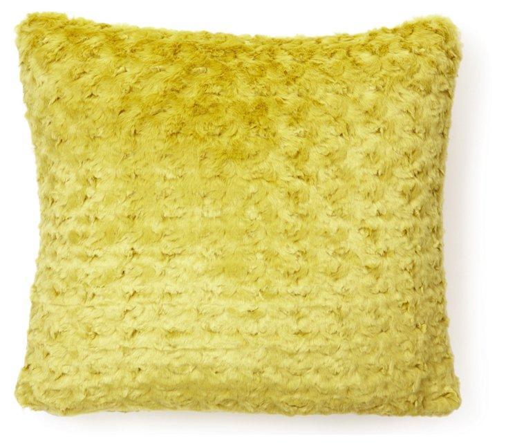 Mink 20x20 Pillow, Pistachio