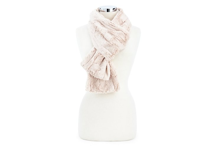 Rabbit Scarf, Natural
