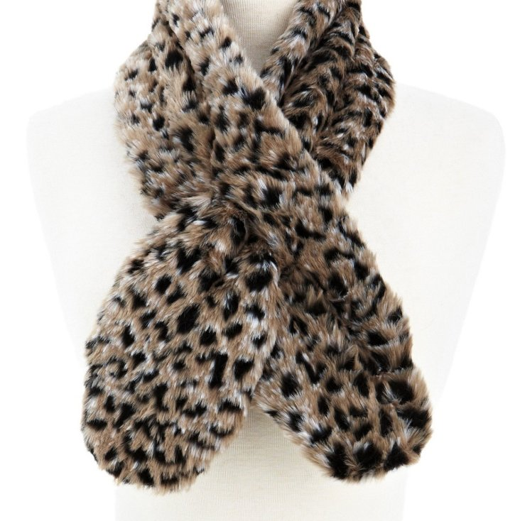 Lynx Pull-Through Scarf, Slate