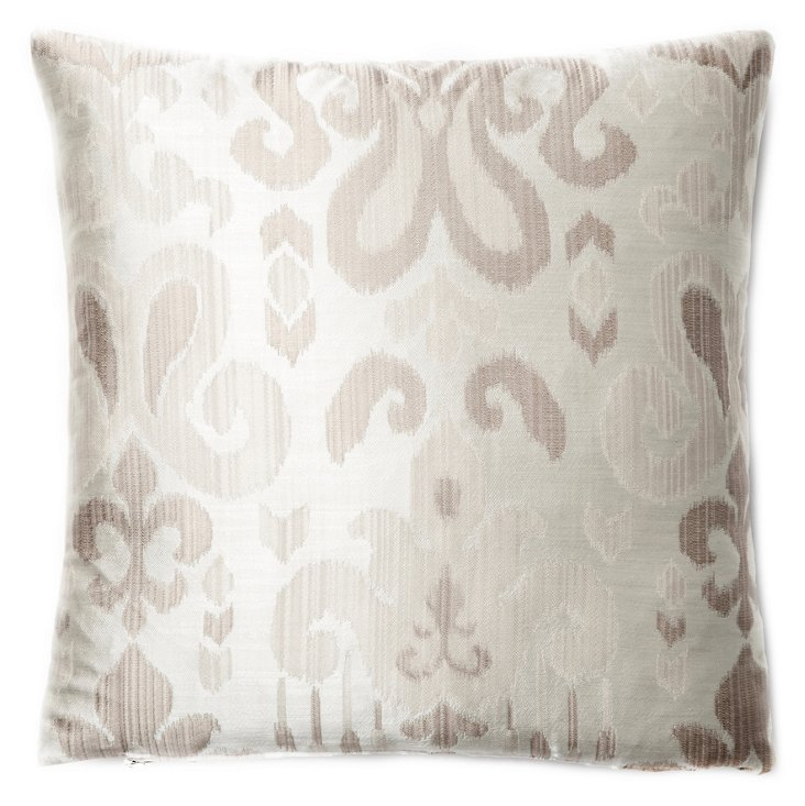 Bali 20x20 Pillow, Gray