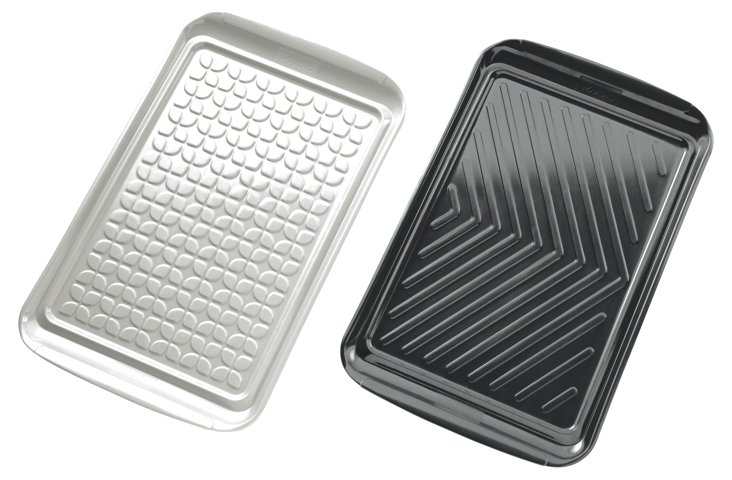 S/2 Asst. Prep & Serve BBQ Trays
