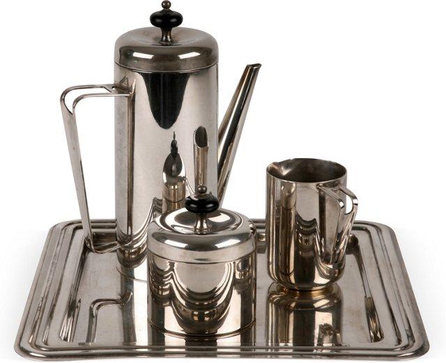 Art Deco Coffee Set, 4 Pcs.