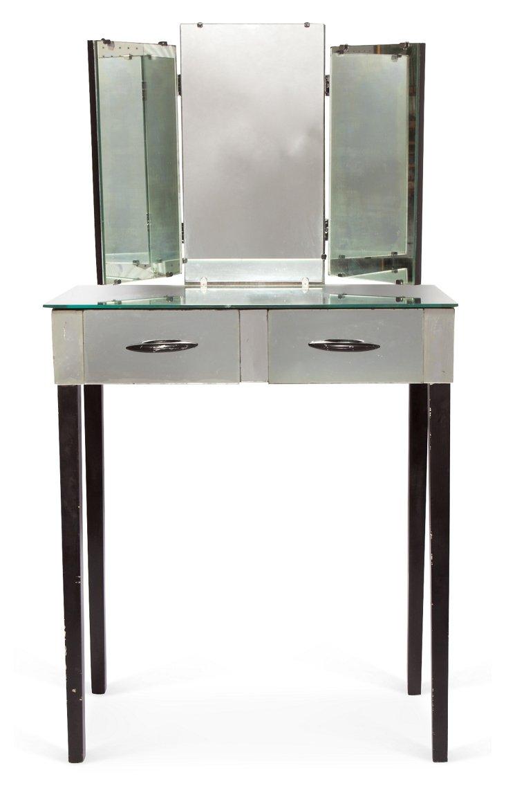 Deco Mirrored Vanity