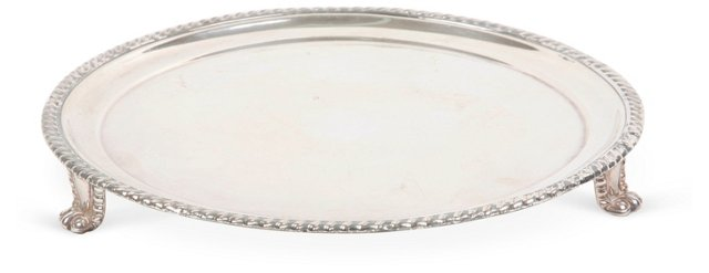 Silverplate Mail Tray
