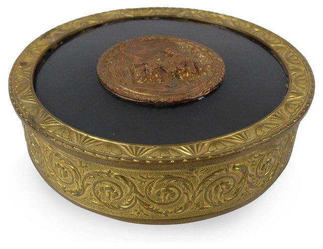 French Bronze Jewel Box