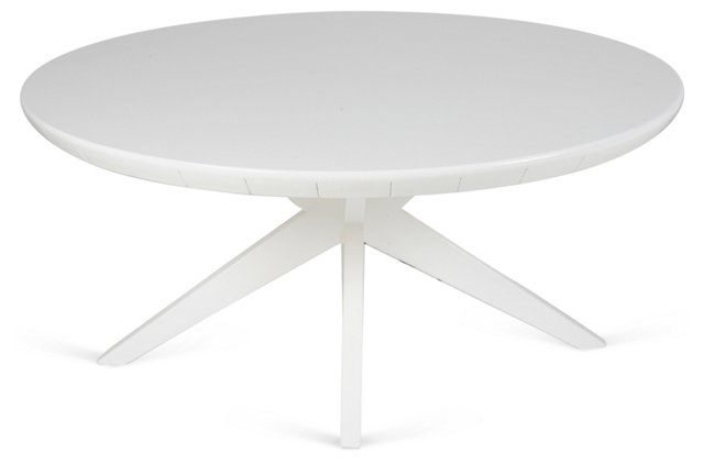 1960s Modern Grass-Cloth Table