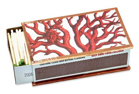 Coral Matchbox