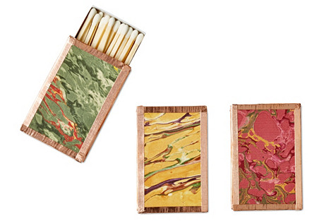 Petite Matchboxes, Red/Green/Yellow