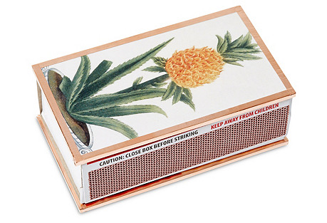 Pineapple Match Box, Multi