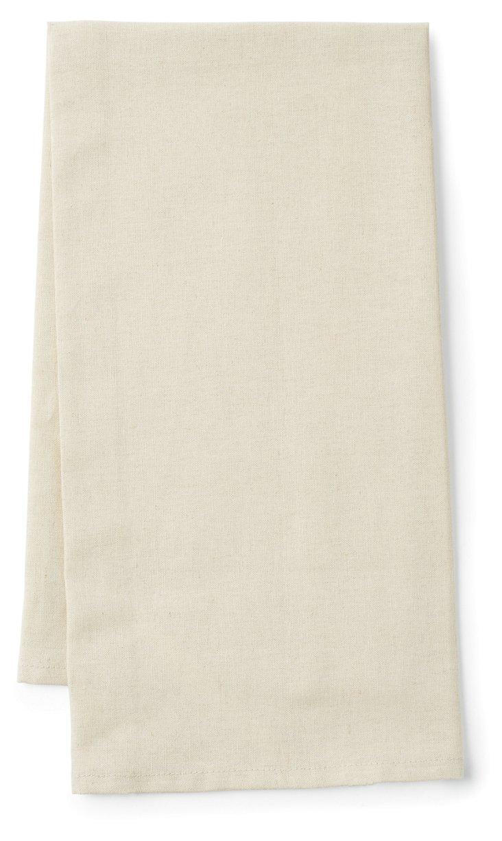 Essex Natural Tea Towel, Beige
