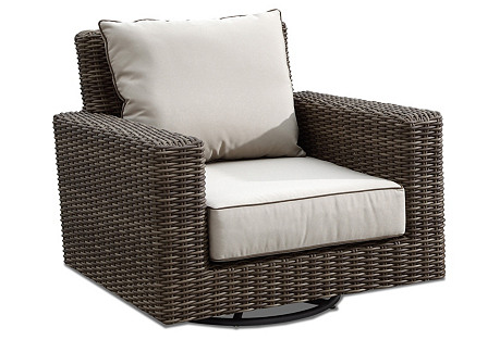 Neptune Swivel Rocking Club Chair