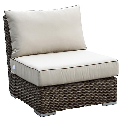 Neptune Armless Club Chair
