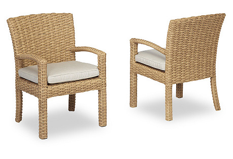 Margate Armchair, Natural