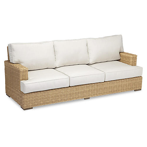 "Margate 90"" Sofa, Natural"