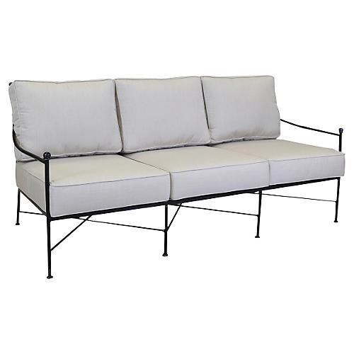Provence Sofa, Beige Sunbrella