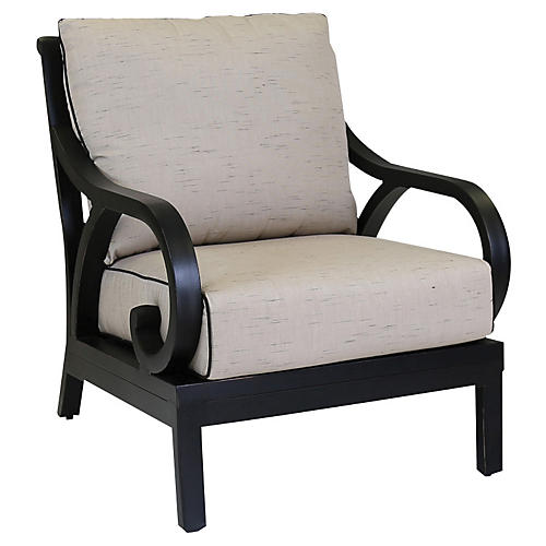 Monterey Club Chair, Ancient Bronze