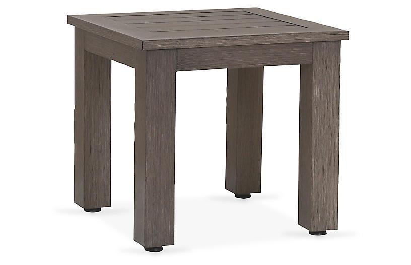 Laguna Side Table, Driftwood
