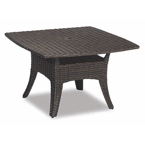 Cardiff Square Dining Table, Chocolate