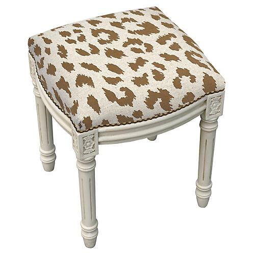 Kara Stool, Caramel Leopard