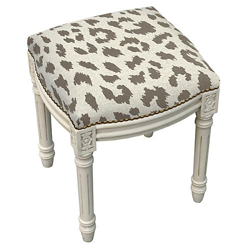 Kara Stool, Smokey Gray Leopard