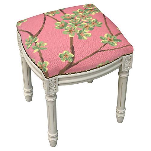 Kara Stool, Pink Blossoms