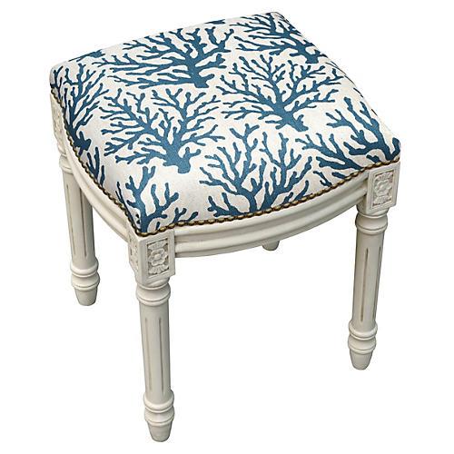 Kara Stool, Blue Mini Coral