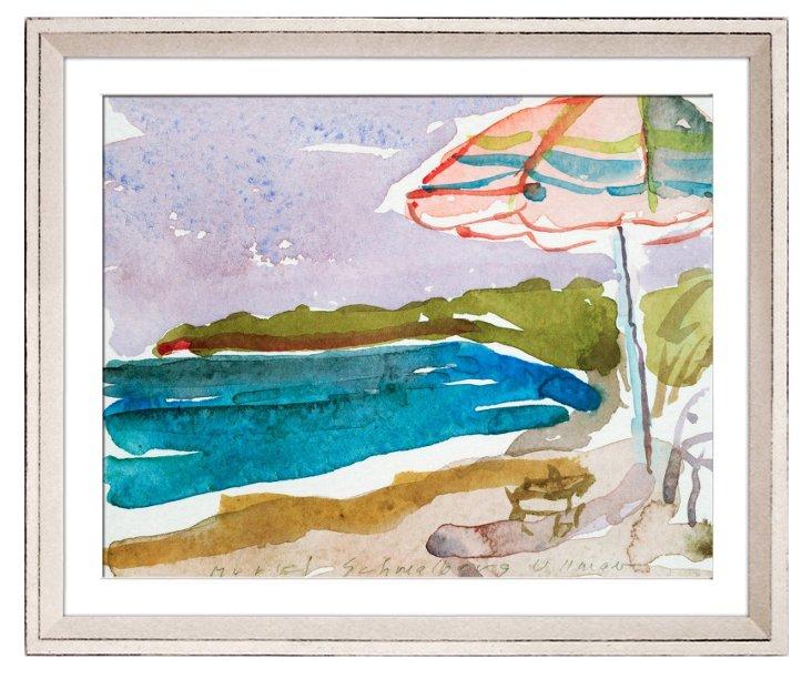 Maxine Boll-Hughes, Beach Umbrella