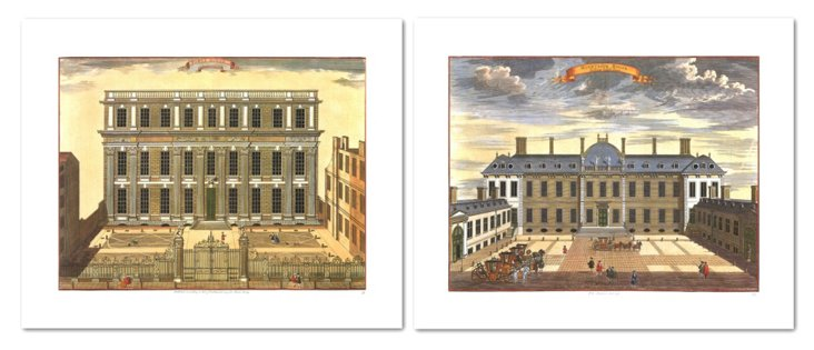 John Stow, Buildings I, Set of Two