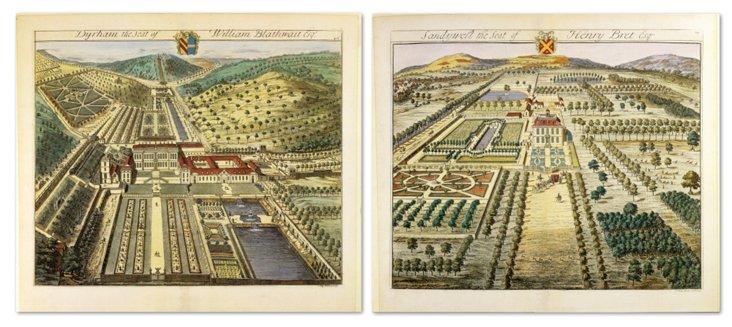 English Estates II, Set of Two