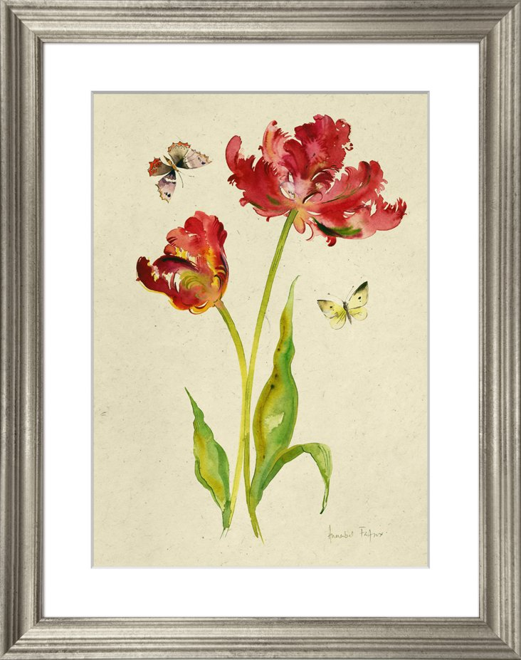 Tulips and Butterflies II