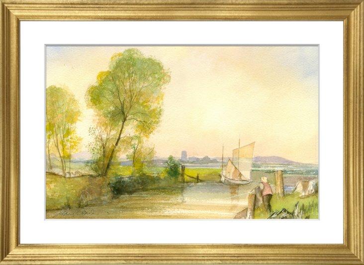 Suffolk Watercolor II