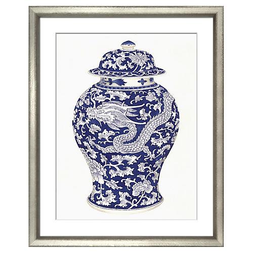 Blue & White Ceramics I