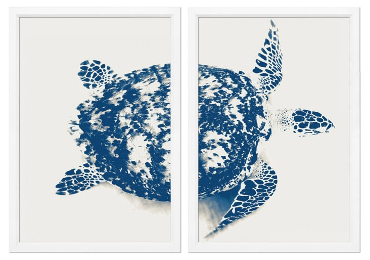 Turtle Diptych