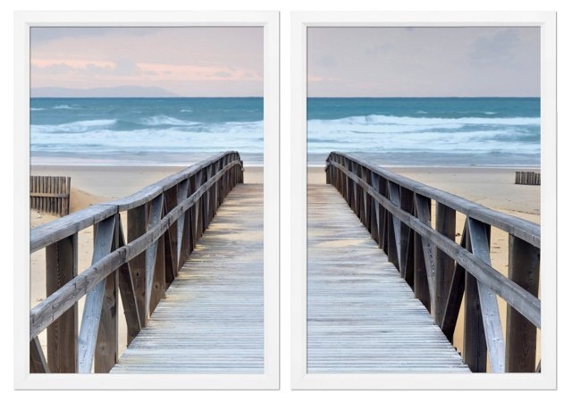 Boardwalk Diptych