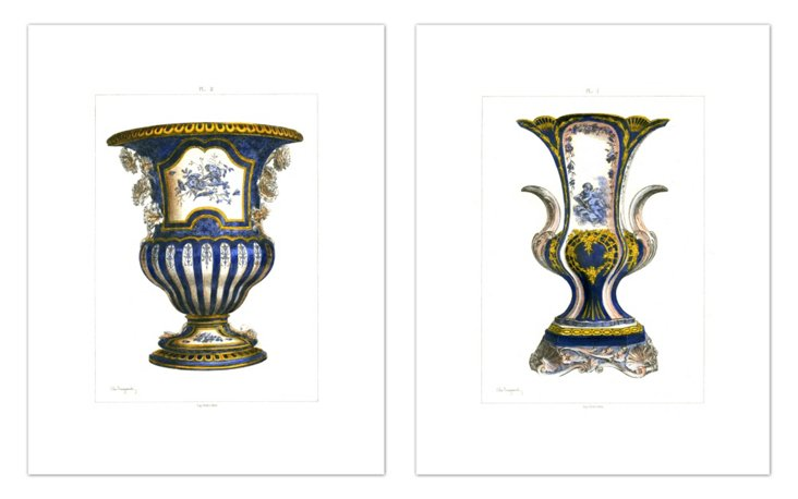 Jules Jacquemart, Vases