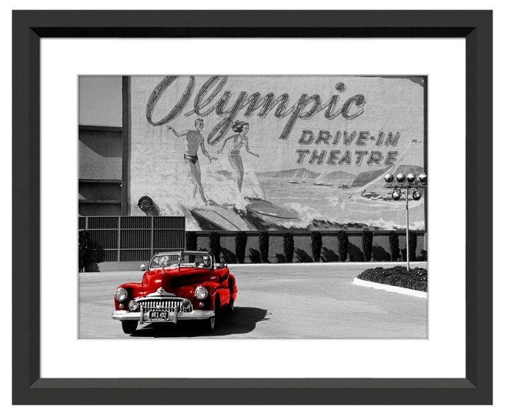 Kurt Hutton, Olympic Drive-In